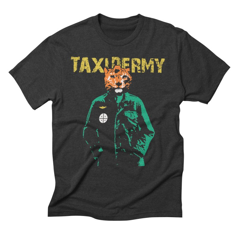 TAXIDERMY Men's Triblend T-Shirt by wreckenroll's Artist Shop