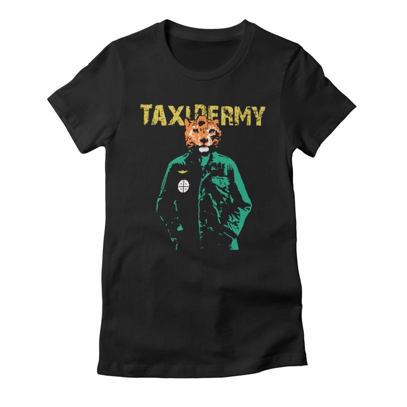 TAXIDERMY Women's Fitted T-Shirt by wreckenroll's Artist Shop