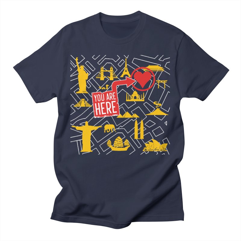 wanderlust Women's T-Shirt by wreckenroll's Artist Shop