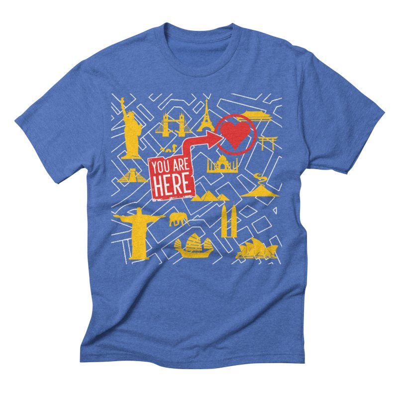 wanderlust Men's T-Shirt by wreckenroll's Artist Shop