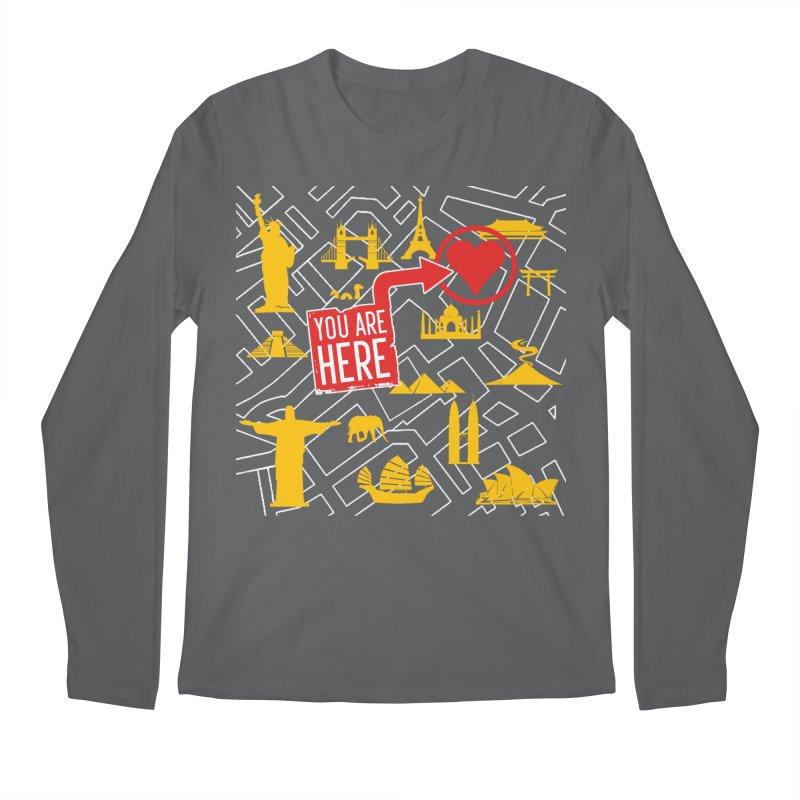 wanderlust Men's Regular Longsleeve T-Shirt by wreckenroll's Artist Shop