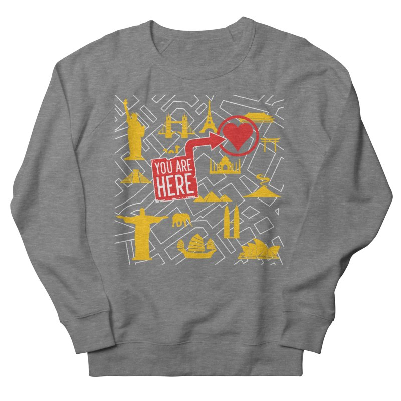 wanderlust Women's Sweatshirt by wreckenroll's Artist Shop