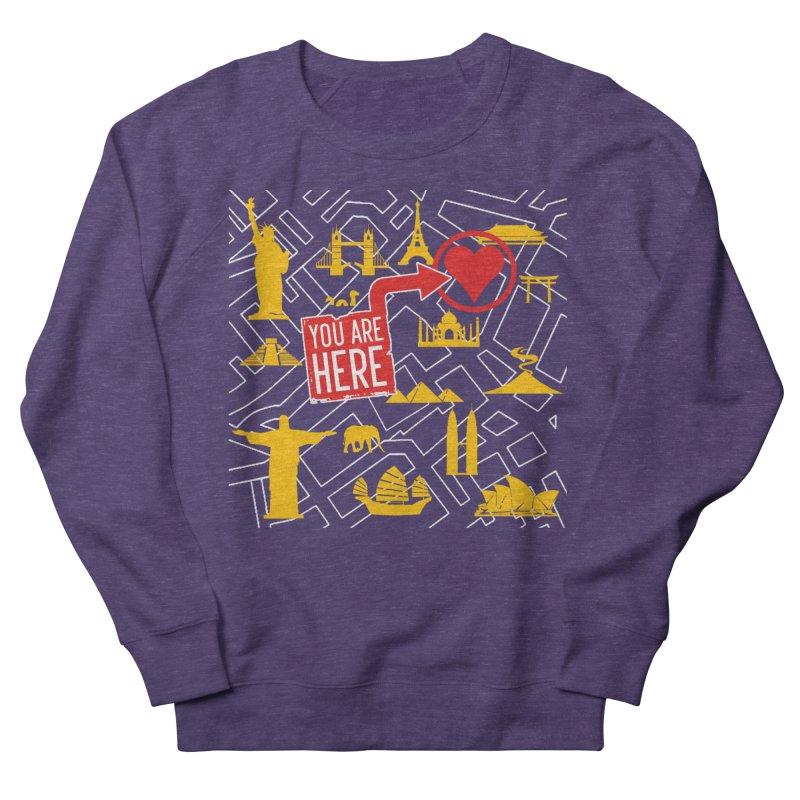 wanderlust Men's Sweatshirt by wreckenroll's Artist Shop