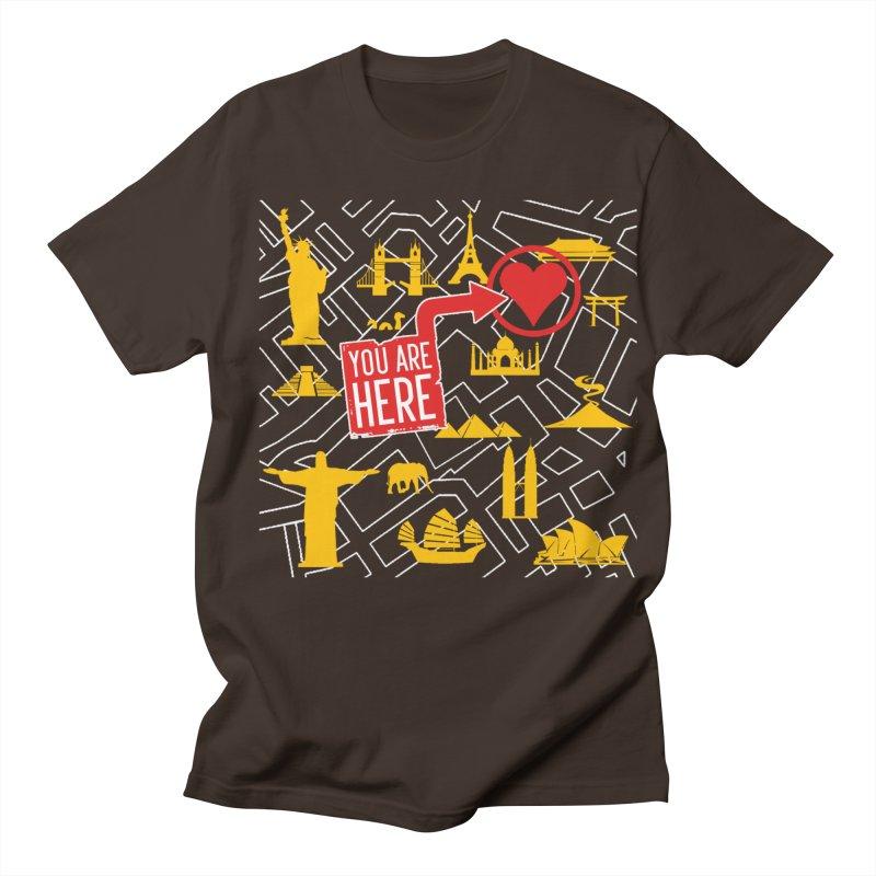 wanderlust Men's Regular T-Shirt by wreckenroll's Artist Shop