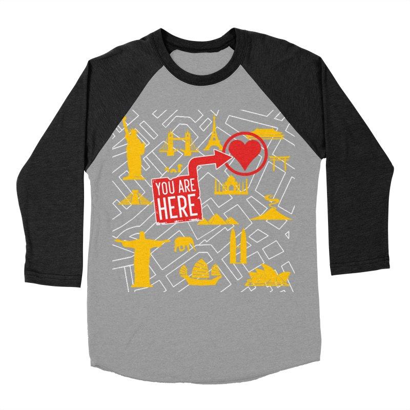 wanderlust Women's Baseball Triblend Longsleeve T-Shirt by wreckenroll's Artist Shop