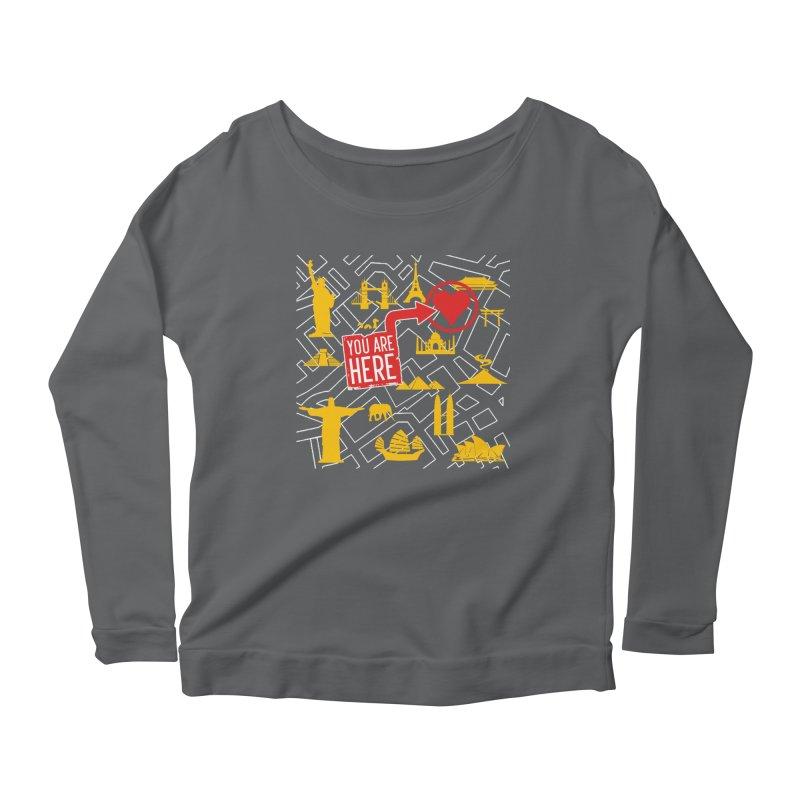 wanderlust Women's Longsleeve T-Shirt by wreckenroll's Artist Shop