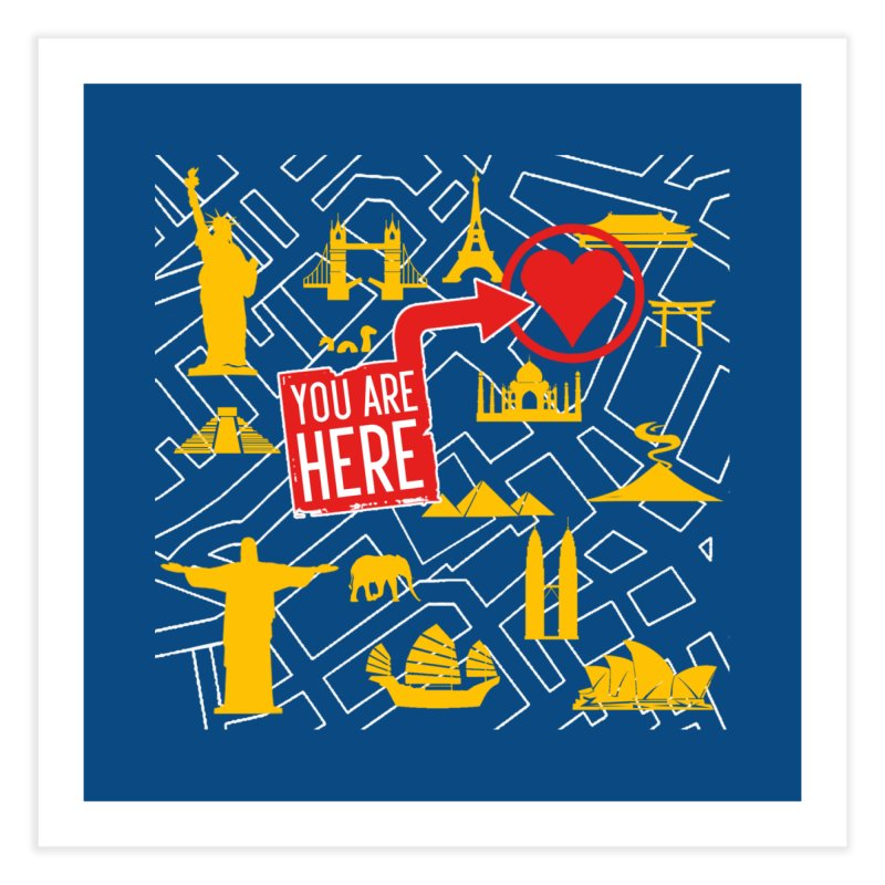 wanderlust Home Fine Art Print by wreckenroll's Artist Shop