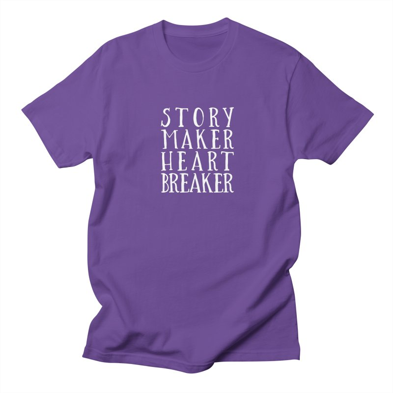 Story Maker Heartbreaker Men's Regular T-Shirt by WritersLife's Artist Shop