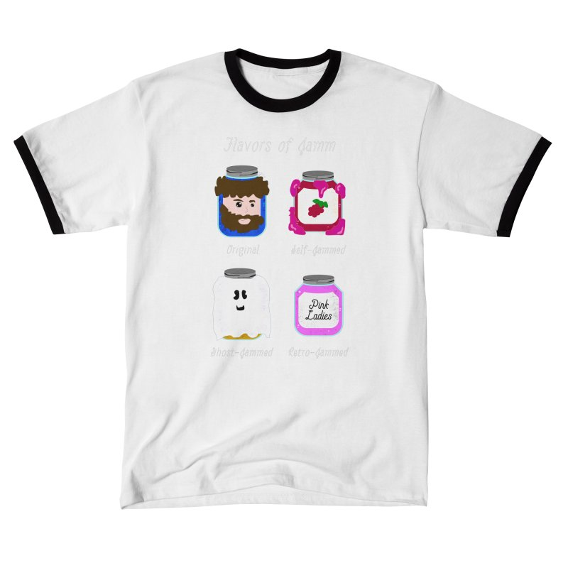 Flavors of Jamm Men's T-Shirt by WritersLife's Artist Shop