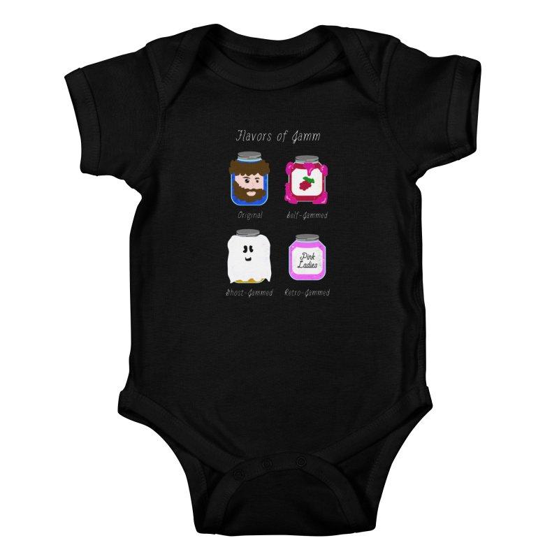 Flavors of Jamm Kids Baby Bodysuit by WritersLife's Artist Shop