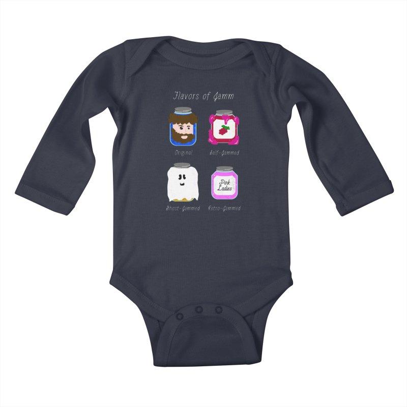Flavors of Jamm Kids Baby Longsleeve Bodysuit by WritersLife's Artist Shop