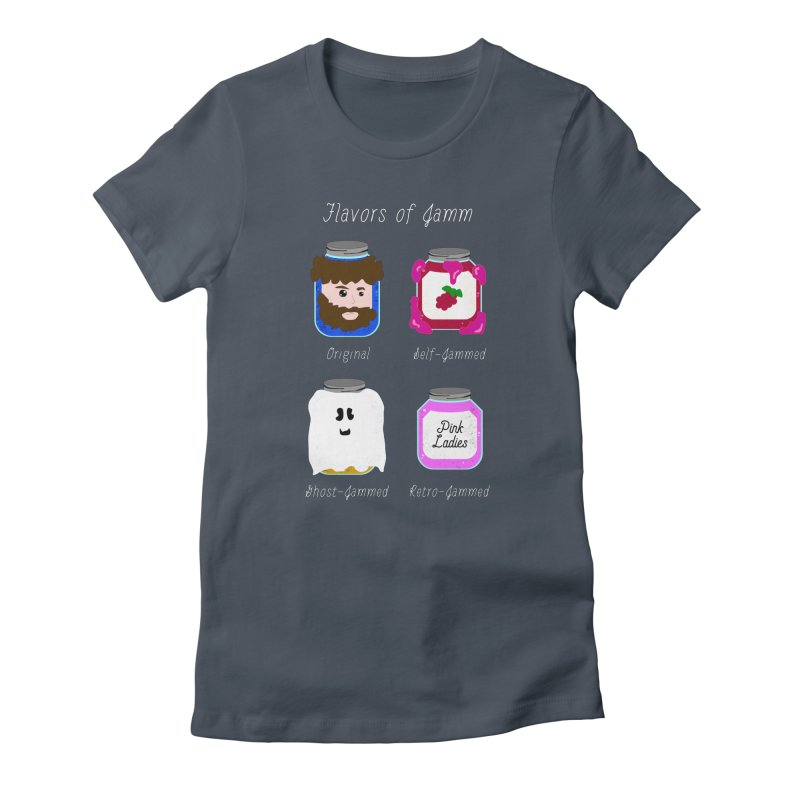 Flavors of Jamm Women's T-Shirt by WritersLife's Artist Shop