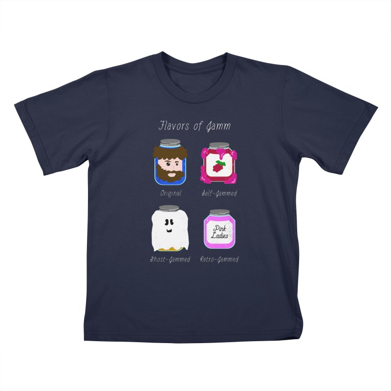 Flavors of Jamm Kids T-Shirt by WritersLife's Artist Shop