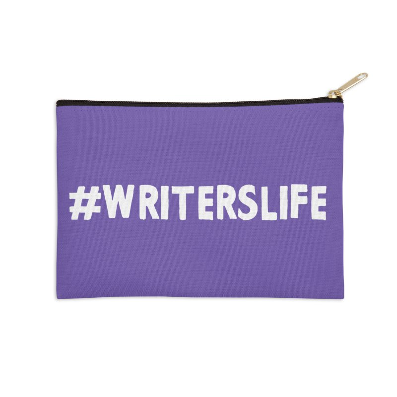 #writerslife Accessories Zip Pouch by WritersLife's Artist Shop