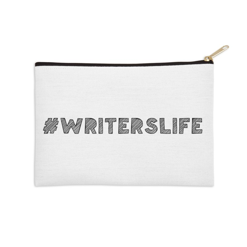 #writerslife sketch Accessories Zip Pouch by WritersLife's Artist Shop