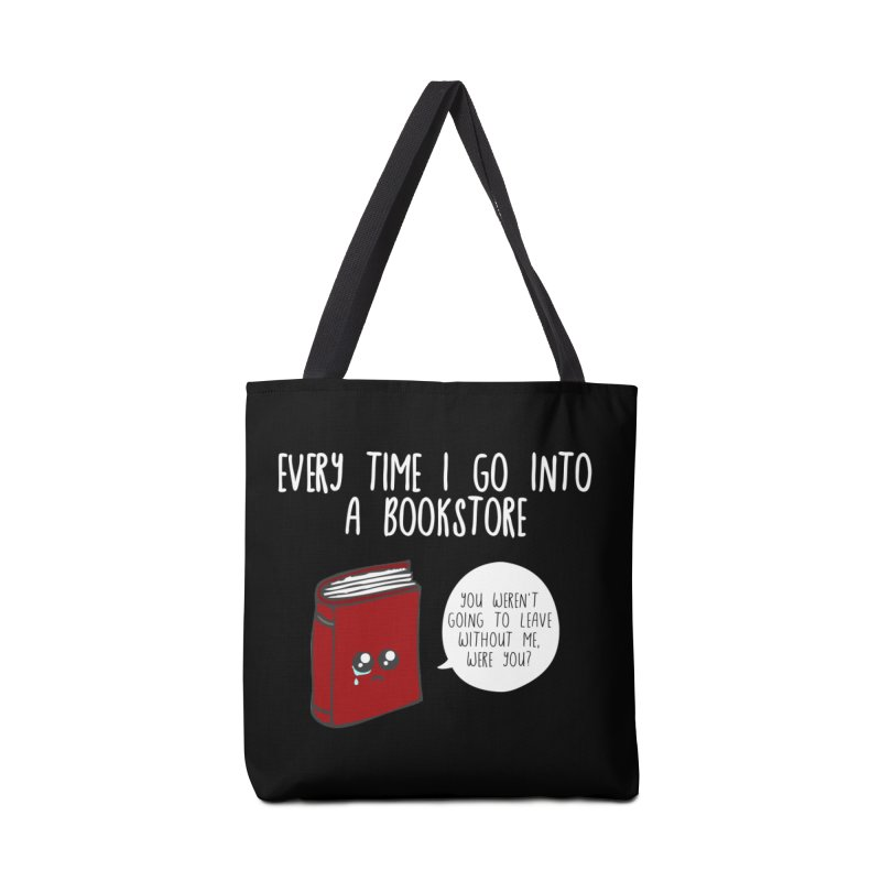Bookstore Guilt Accessories Bag by WritersLife's Artist Shop