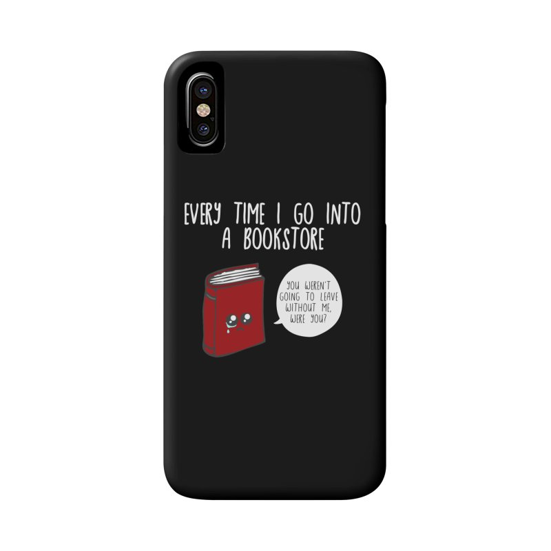 Bookstore Guilt Accessories Phone Case by WritersLife's Artist Shop