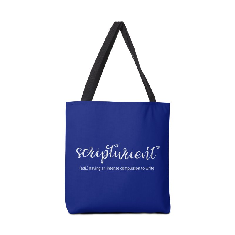 scripturient Accessories Bag by WritersLife's Artist Shop