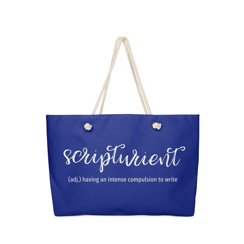 scripturient Accessories Bag by WritersLife's Artist Shop