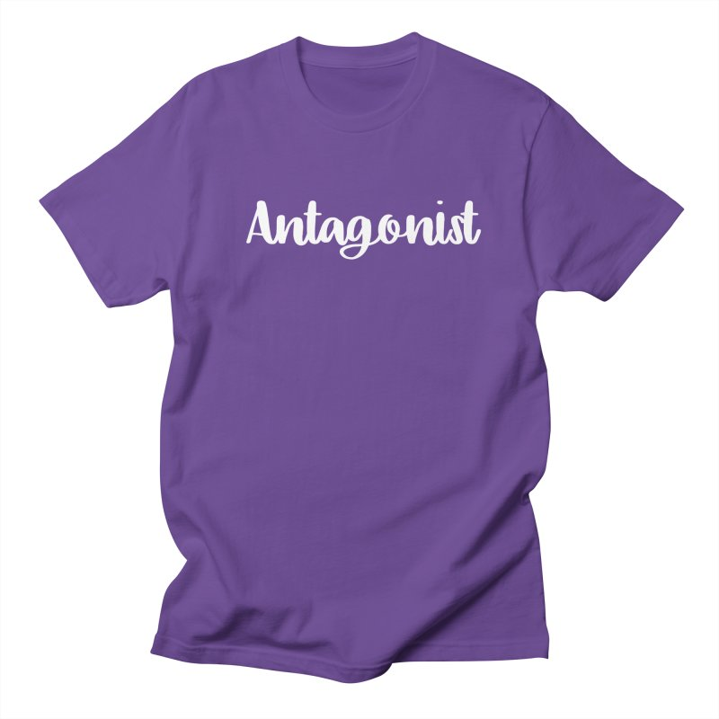 Antagonist Men's Regular T-Shirt by WritersLife's Artist Shop