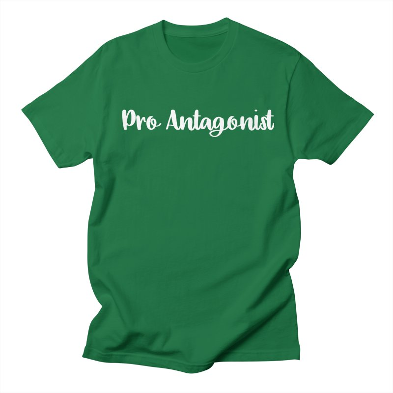 Pro Antagonist Men's T-Shirt by WritersLife's Artist Shop
