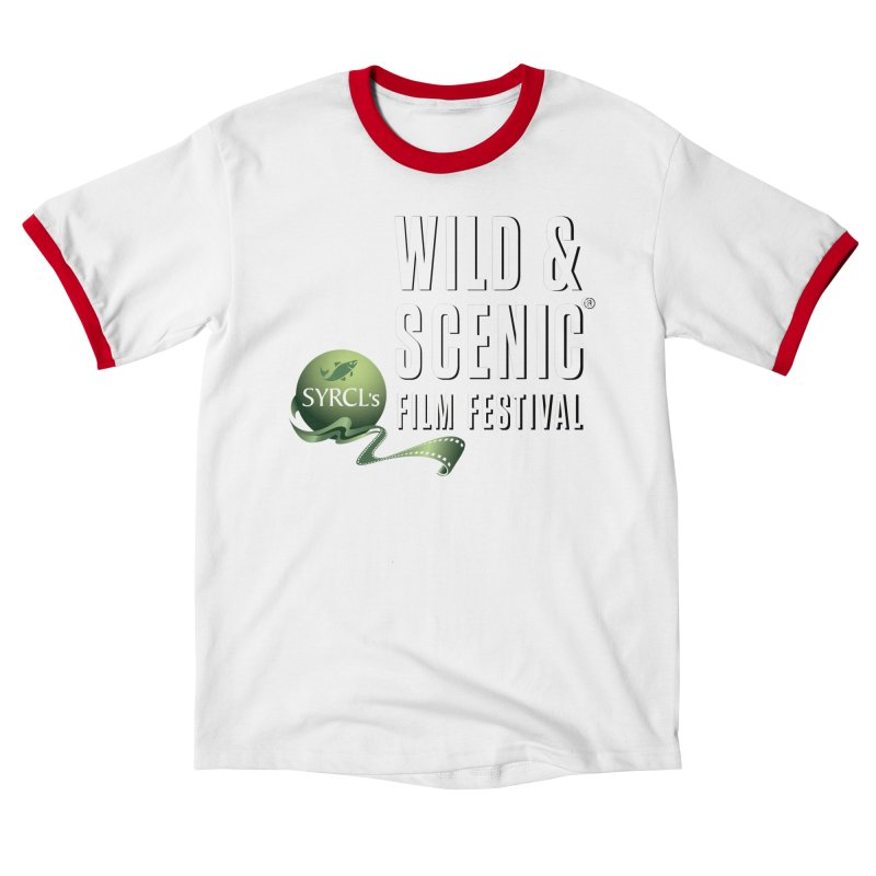 Classic WSFF Logo - White Men's T-Shirt by Official Wild & Scenic Merchandise
