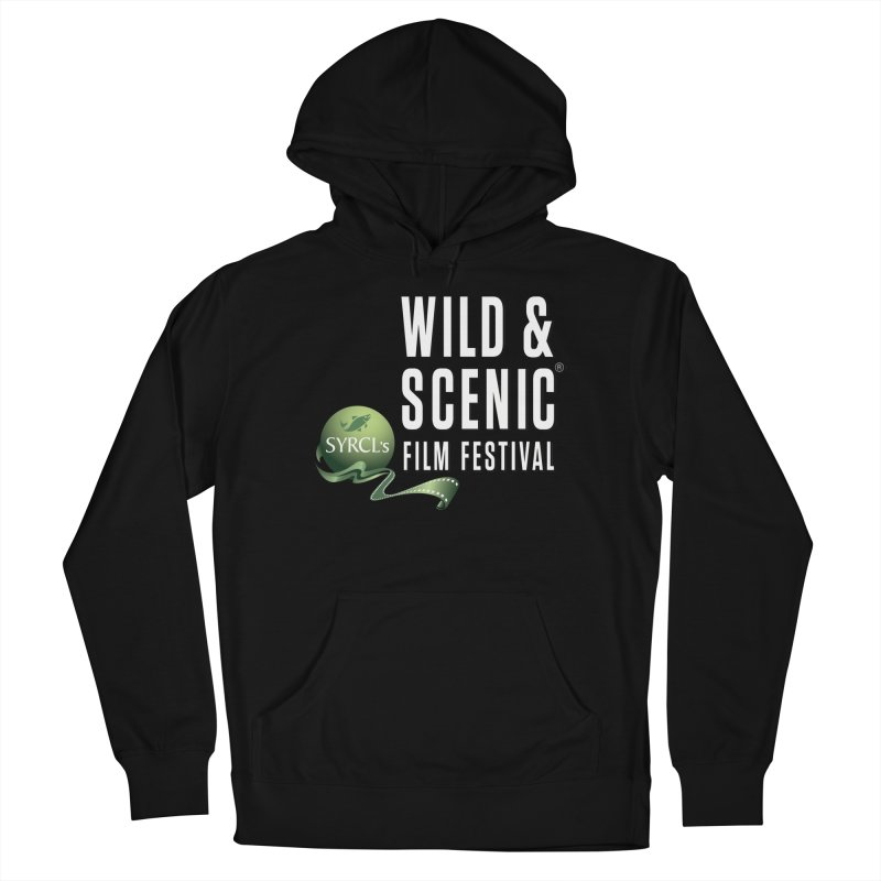 Classic WSFF Logo - White Women's Pullover Hoody by Official Wild & Scenic Merchandise