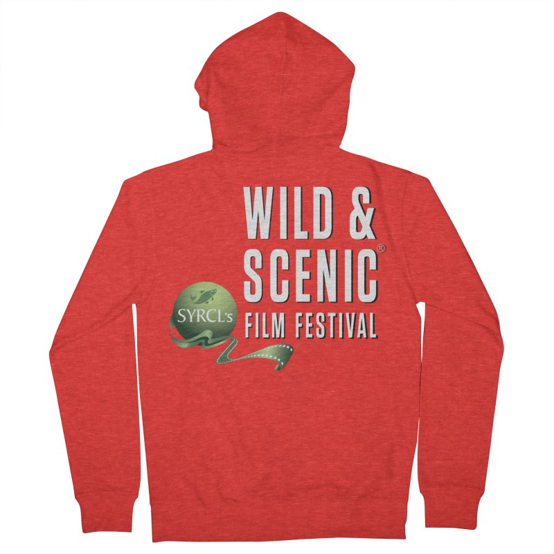 Classic WSFF Logo - White Women's Zip-Up Hoody by Official Wild & Scenic Merchandise