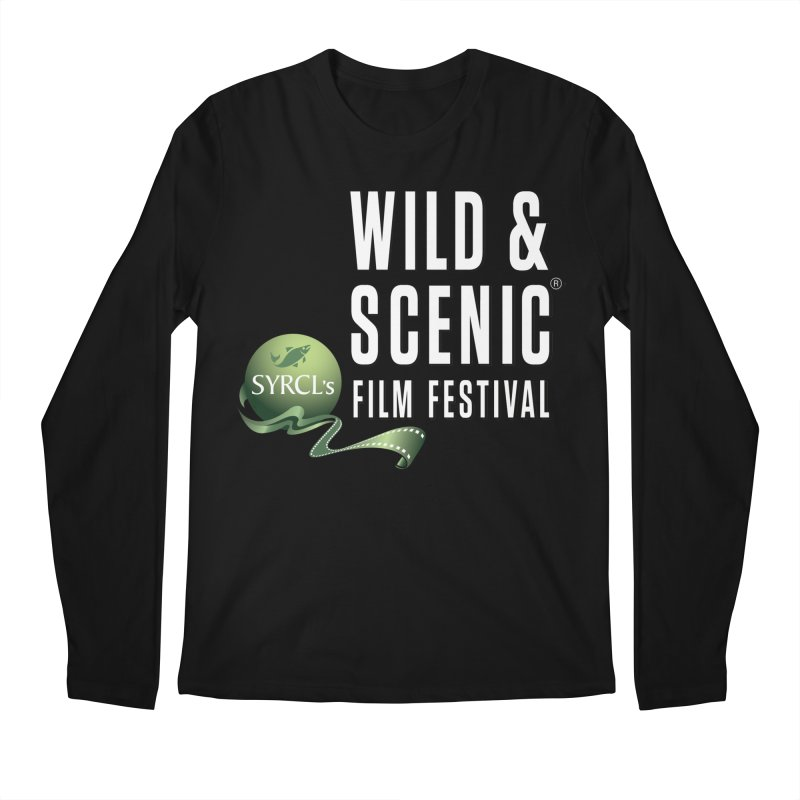 Classic WSFF Logo - White Men's Longsleeve T-Shirt by Official Wild & Scenic Merchandise