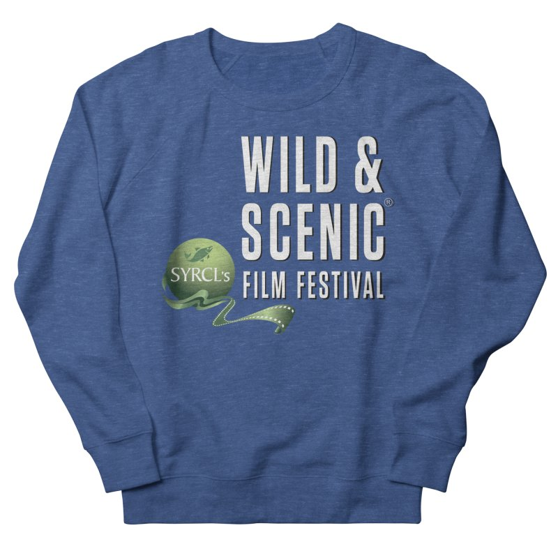 Classic WSFF Logo - White Men's Sweatshirt by Official Wild & Scenic Merchandise
