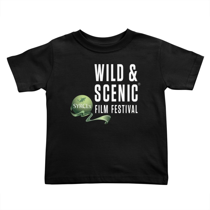 Classic WSFF Logo - White Kids Toddler T-Shirt by Official Wild & Scenic Merchandise