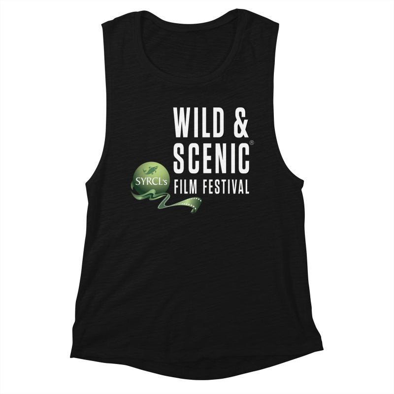 Classic WSFF Logo - White Women's Tank by Official Wild & Scenic Merchandise