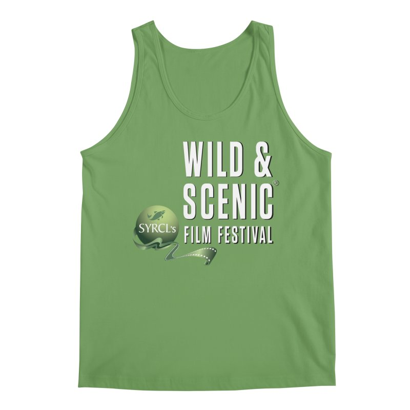 Classic WSFF Logo - White Men's Tank by Official Wild & Scenic Merchandise