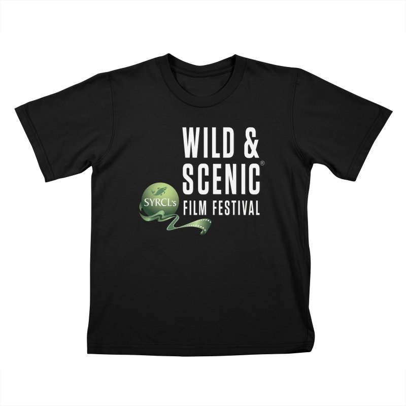 Classic WSFF Logo - White Kids T-Shirt by Official Wild & Scenic Merchandise