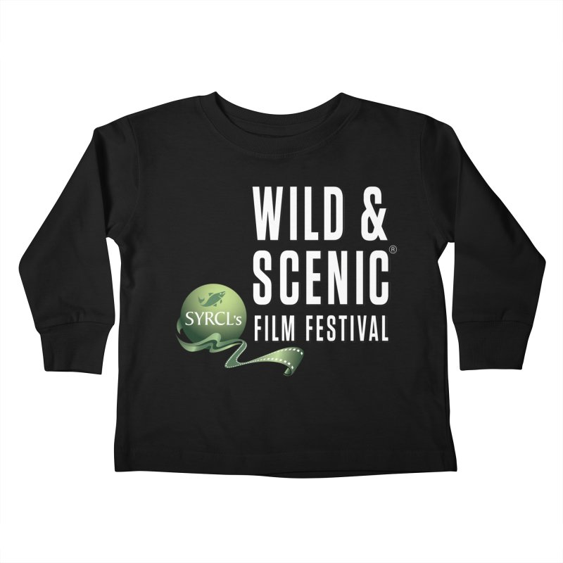 Classic WSFF Logo - White Kids Toddler Longsleeve T-Shirt by Official Wild & Scenic Merchandise