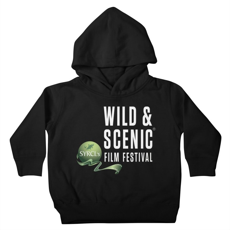 Classic WSFF Logo - White Kids Toddler Pullover Hoody by Official Wild & Scenic Merchandise