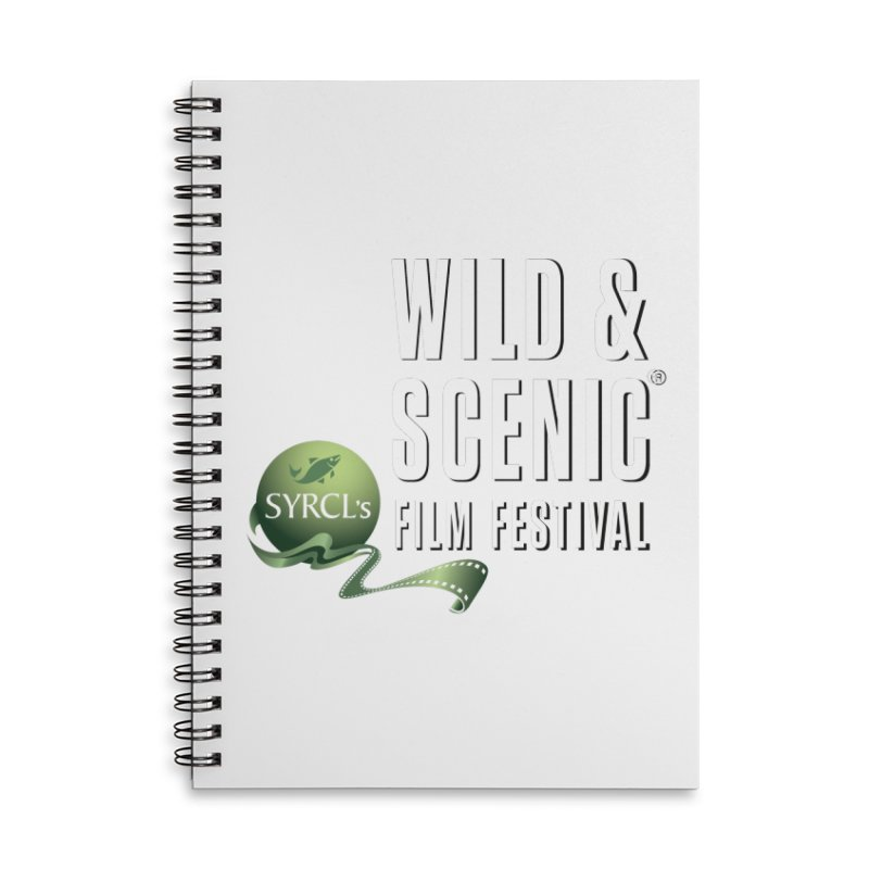 Classic WSFF Logo - White Accessories Notebook by Official Wild & Scenic Merchandise