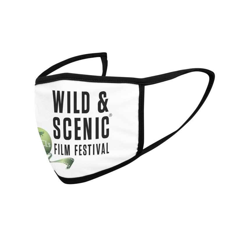 Classic WSFF Logo - Black Accessories Face Mask by Official Wild & Scenic Merchandise