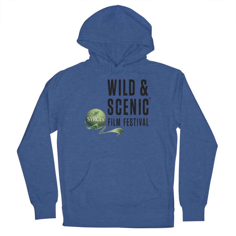 Classic WSFF Logo - Black Women's Pullover Hoody by Official Wild & Scenic Merchandise
