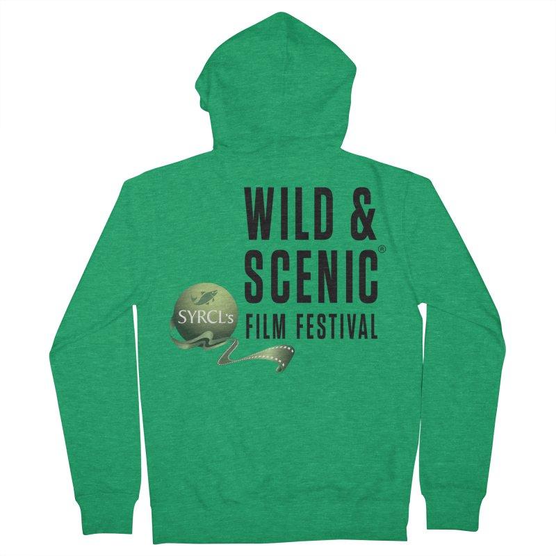 Classic WSFF Logo - Black Women's Zip-Up Hoody by Official Wild & Scenic Merchandise