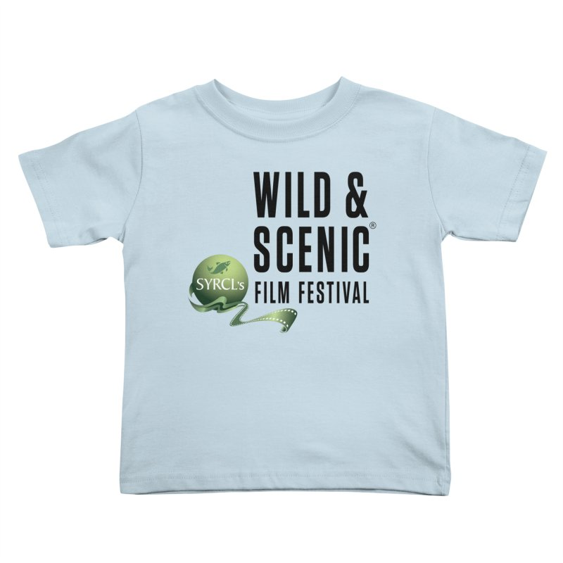 Classic WSFF Logo - Black Kids Toddler T-Shirt by Official Wild & Scenic Merchandise