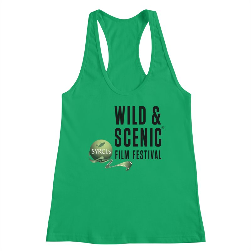Classic WSFF Logo - Black Women's Tank by Official Wild & Scenic Merchandise