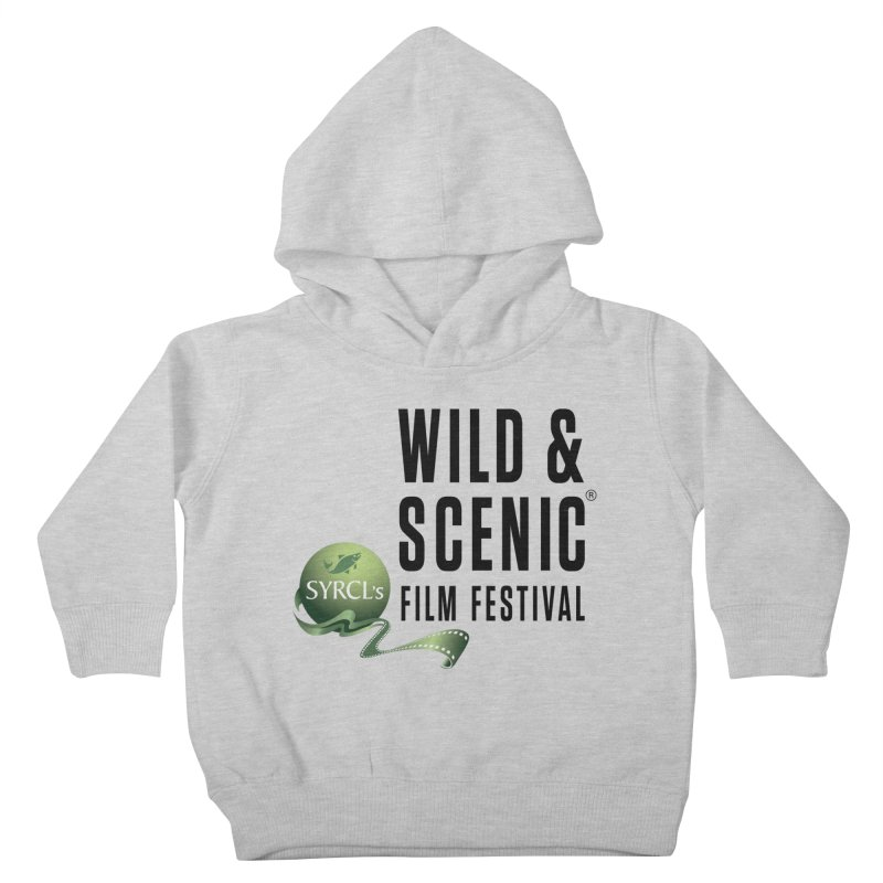 Classic WSFF Logo - Black Kids Toddler Pullover Hoody by Official Wild & Scenic Merchandise