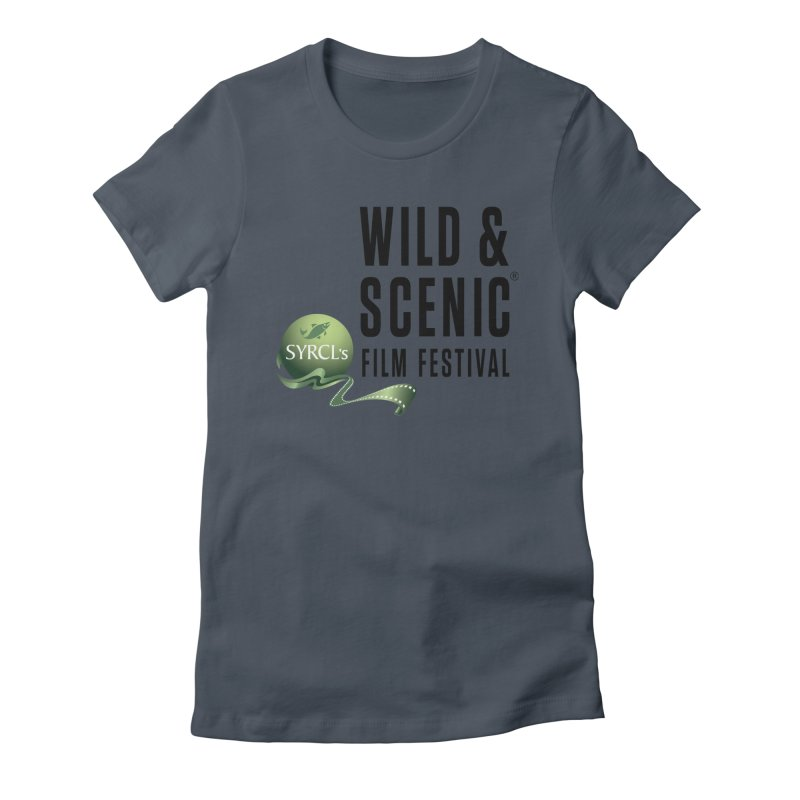 Classic WSFF Logo - Black Women's T-Shirt by Official Wild & Scenic Merchandise