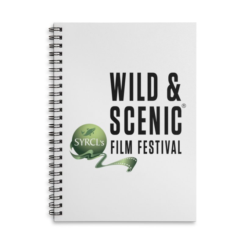 Classic WSFF Logo - Black Accessories Notebook by Official Wild & Scenic Merchandise