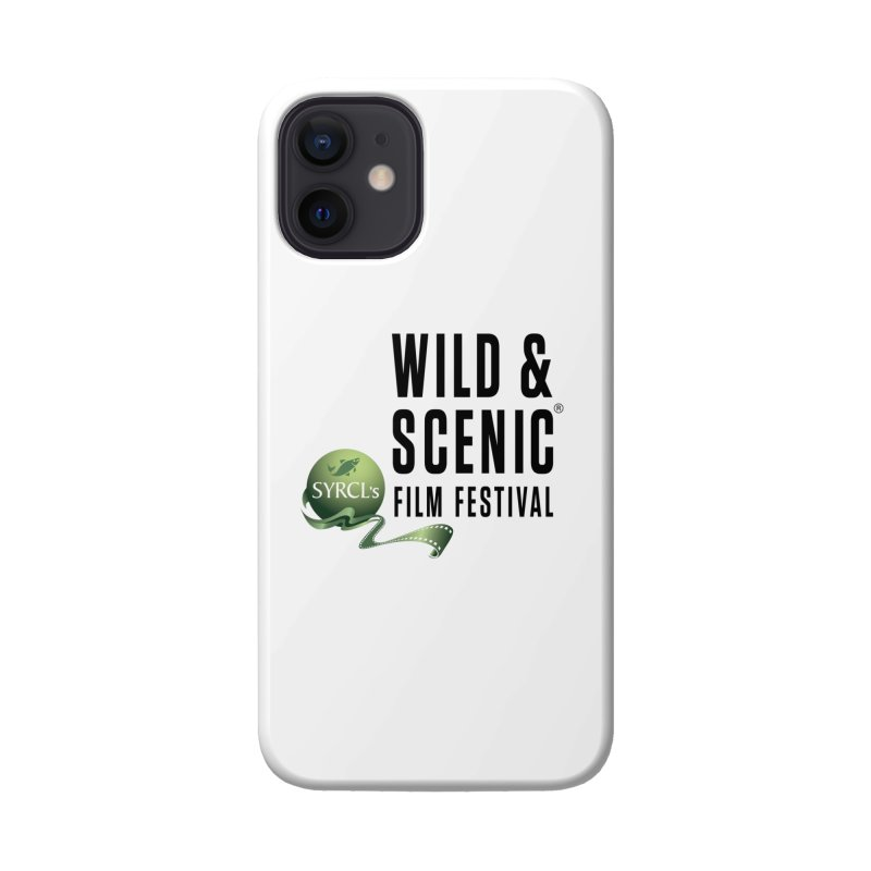 Classic WSFF Logo - Black Accessories Phone Case by Official Wild & Scenic Merchandise
