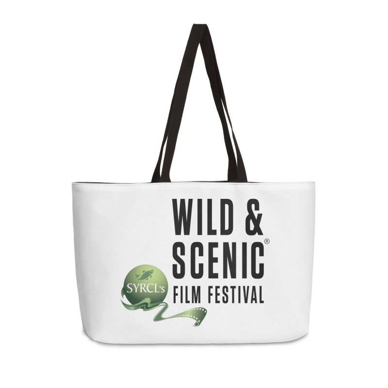 Classic WSFF Logo - Black Accessories Bag by Official Wild & Scenic Merchandise