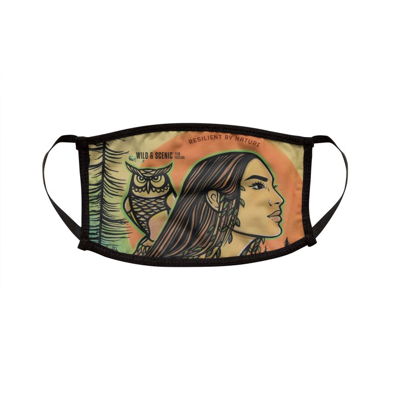 2021 Official Artwork (Full Color) Accessories Face Mask by Official Wild & Scenic Merchandise