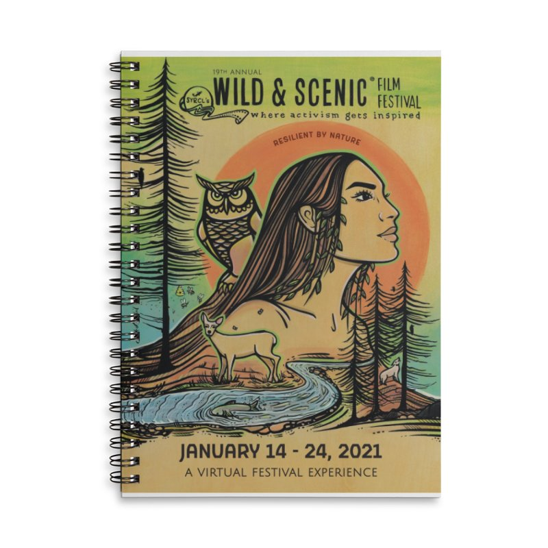 2021 Official Artwork (Full Color) Accessories Notebook by Official Wild & Scenic Merchandise