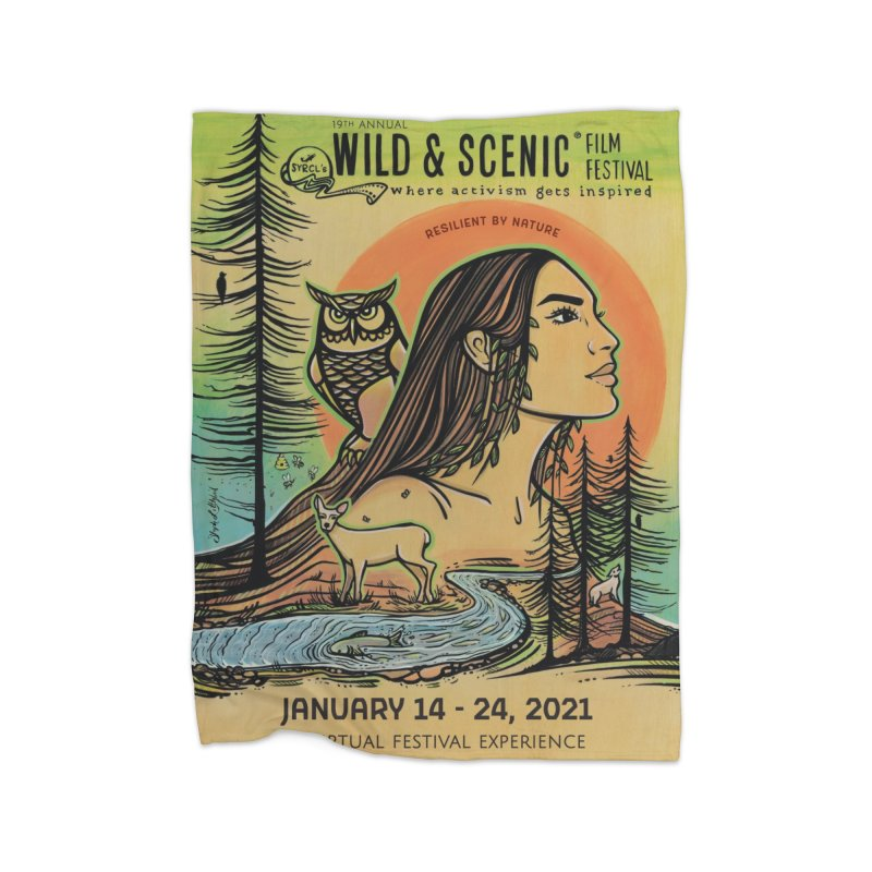 2021 Official Artwork (Full Color) Home Blanket by Official Wild & Scenic Merchandise